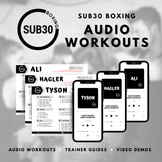 Sub30 Boxing Audio Workouts image